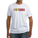 Tennis Love 2 Fitted T-Shirt