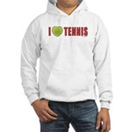 Tennis Love 2 Hooded Sweatshirt