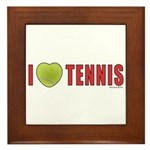 Tennis Love 2 Framed Tile
