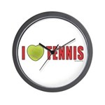 Tennis Love 2 Wall Clock