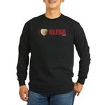 Volleyball Love 2 Long Sleeve Dark T-Shirt