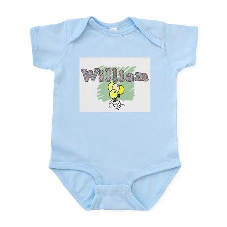 William Infant Bodysuit