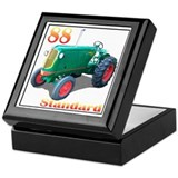 Tractor pulling Keepsake Box