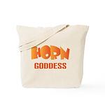 Horn Goddess Tote Bag