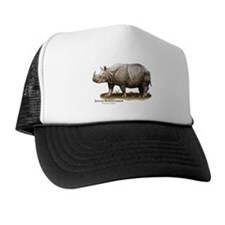 Javan Rhinoceros Trucker Hat