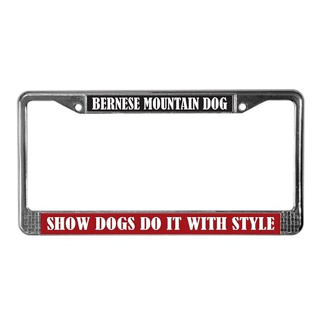 Show License Plate Frame