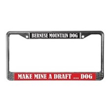 Draft License Plate Frame