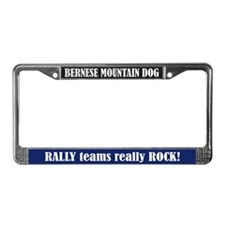 Rally License Plate Frame