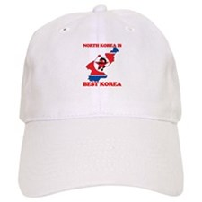 North Korea is Best Korea Baseball Cap