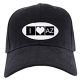 I Love AZ Baseball Hat