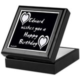 Cool B day Keepsake Box