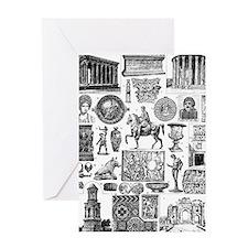 Roman Art II Greeting Cards