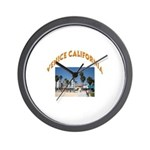 Venice California Wall Clock