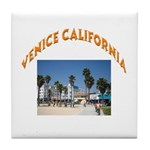 Venice California Tile Coaster