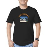 Venice California Men's Fitted T-Shirt (dark)