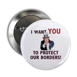 "IWU - Protect our Borders! 2.25"" Button (10 pack)"