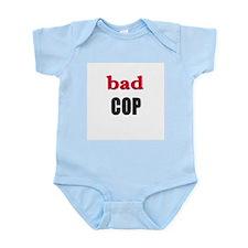 IVF Bad Cop Twin Infant Creeper