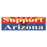 Support Arizona Bumper Sticker