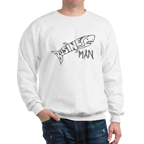 Business Man (shark) Sweatshirt