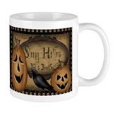 Primitive Sleepy Hollow Halloween Coffee Small Mug