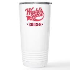Worlds Best Singer Ceramic Travel Mug