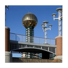 Sunsphere Tile Coaster
