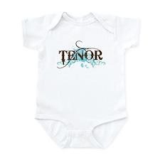 Grunge Blue Tenor Infant Bodysuit