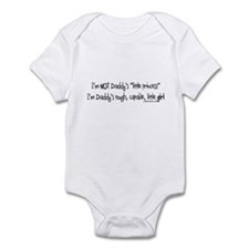 NOT Daddy's princess girl power Infant Bodysuit