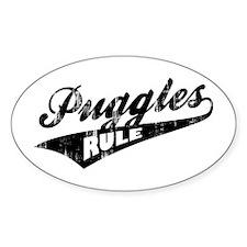 Puggles Rule Decal