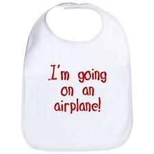 going on an airplane Bib