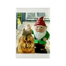 Bad Manors Gnome Magnet