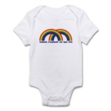 Double Rainbow All The Way Infant Bodysuit