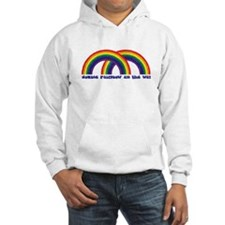 Double Rainbow All The Way Hoodie