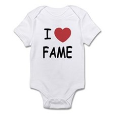 I heart fame Infant Bodysuit
