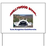Hollywood Bowl Yard Sign