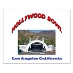 Hollywood Bowl Small Poster