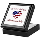 Unique Welcome home Keepsake Box