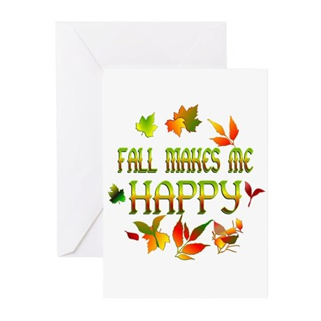 Fall Happiness Greeting Cards (Pk of 10)