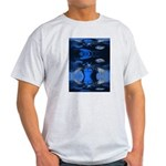 Mona Moose Blue Ash Grey T-Shirt