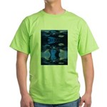 Mona Moose Blue Green T-Shirt