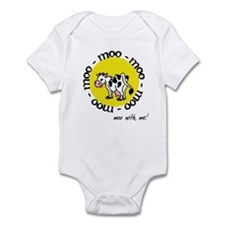Moo With Me Infant Bodysuit