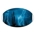 Sonoran Storm Sticker (Oval 50 pk)