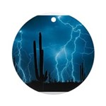 Sonoran Storm Ornament (Round)