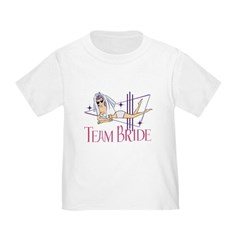 team bride toddler t-shirt