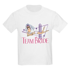 team bride kids tee