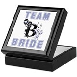 Celebrate Team Bride Keepsake Box