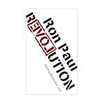 Ron Paul Sticker (Rectangular)