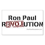 Ron Paul- Sticker (Rectangle 10 pk)
