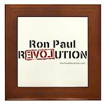 Ron Paul- Framed Tile