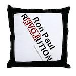 Ron Paul Throw Pillow